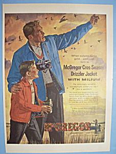 Vintage Ad: 1955 McGregor Cros Season Drizzler Jacket (Image1)