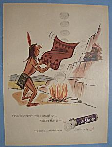 Vintage Ad: 1955 Pep O Mint Life Savers (Image1)