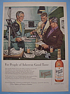 Vintage Ad: 1955 Kentucky Tavern Whiskey