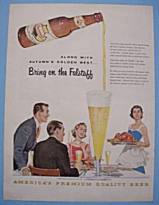 Vintage Ad: 1955 Falstaff Beer (Image1)