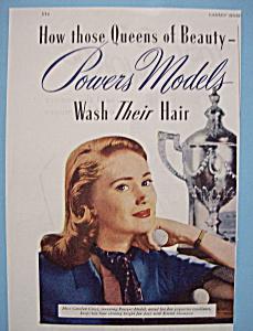 Vintage Ad: 1945 Kreml Shampoo w/ Powers Models (Image1)