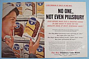 Vintage Ad: 1956 Pillsbury Cake Mix (Image1)