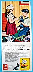 Vintage Ad: 1955 Friskies Dog Food By Stan Ekman (Image1)