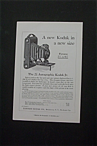 1916 Eastman Kodak Company with Autographic Kodak Jr (Image1)