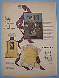 Vintage Ad: 1950 Yardley English Lavender (Image1)