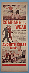 Vintage Ad: 1950 Avonite Soles (Image1)
