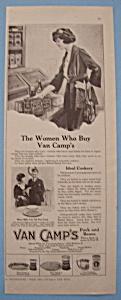 Vintage Ad: 1920 Van Camp's Pork And Beans (Image1)