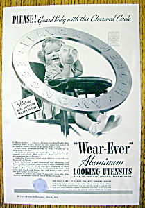Vintage Ad: 1938 Wear Ever Aluminum Cooking Utensils