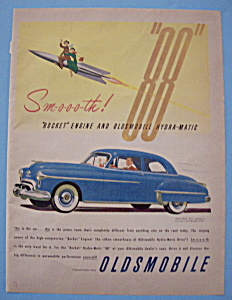 1950 Oldsmobile 88 With Rocket Engine & Hydra-matic