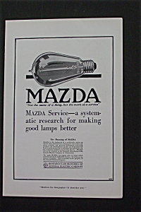1916 Ge Research Laboratories With Making Good Lamps