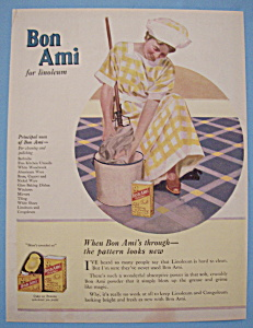 Vintage Ad: 1921 Bon Ami Powder (Image1)