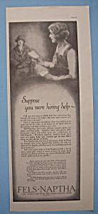 Vintage Ad: 1926 Fels Naptha (Image1)