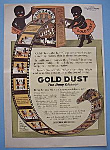 Vintage Ad: 1916 Gold Dust Cleaner (Image1)