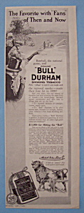 Vintage Ad: 1912 Bull Durham Smoking Tobacco (Image1)