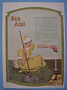 Vintage Ad: 1918 Bon Ami (Image1)