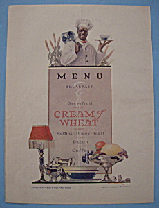 Vintage Ad: 1919 Cream Of Wheat By Edward V. Brewer (Image1)