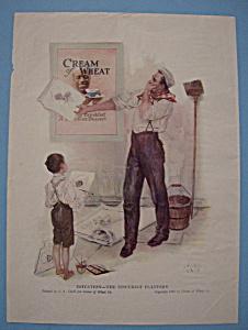 Vintage Ad: 1920 Cream Of Wheat (Image1)