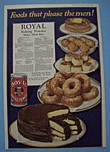 Vintage Ad: 1920 Royal Baking Powder (Image1)