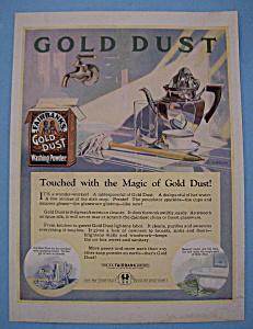 Vintage Ad: 1924 Fairbank's Gold Dust Washing Powder (Image1)