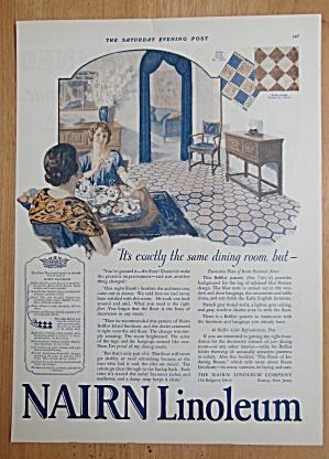 1924 Nairn Linoleum with Women Having Tea  (Image1)