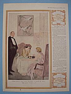 Vintage Ad: 1924 Crane's Writing Paper & Eaton's Linens (Image1)