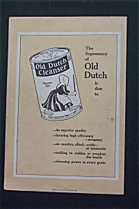 1916 Old Dutch Cleanser With a Can of Cleanser (Image1)