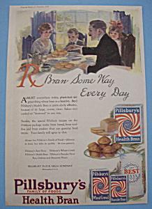 Vintage Ad: 1920 Pillsbury's Health Bran (Image1)
