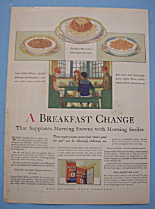 Vintage Ad: 1927 Puffed Rice & Puffed Wheat (Image1)