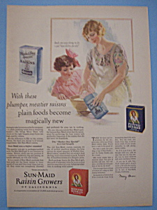 Vintage Ad: 1926 Sun - Maid Raisins (Image1)