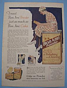 Vintage Ad: 1926 Bon Ami (Image1)