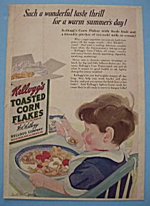 Vintage Ad: 1923 Kellogg's Toasted Corn Flakes (Image1)