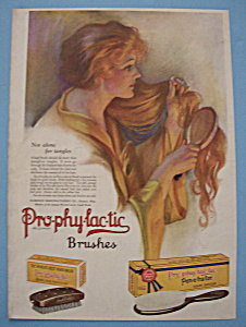 Vintage Ad: 1923 Pro-Phy-Lac-Tic Brush (Image1)