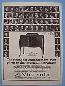 Vintage Ad: 1923 Victrola w/ Mengelberg, Toscanini (Image1)
