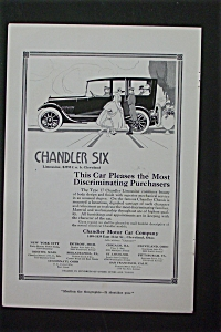 1916 Chandler Motor Car Company w/People By a Car (Image1)