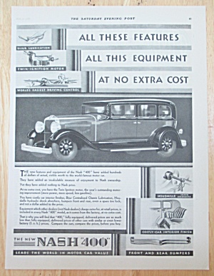 1929 Nash Automobiles With The Nash 400