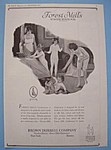 Vintage Ad: 1923 Forest Mills Underwear (Image1)