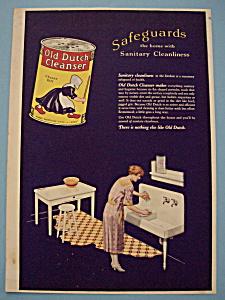 Vintage Ad: 1923 Old Dutch Cleanser (Image1)