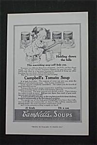 1916 Campbell Soup With Campbell Kid At School