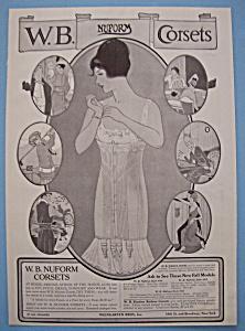 Vintage Ad: 1914 W. B. NuForm Corsets (Image1)