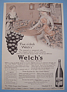 Vintage Ad: 1914 Welch's Grape Juice (Image1)