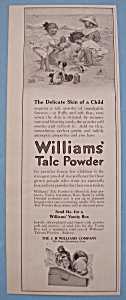 Vintage Ad: 1914 Williams' Talc Powder (Image1)