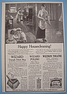 Vintage Ad: 1914 Wizard Products Company (Image1)