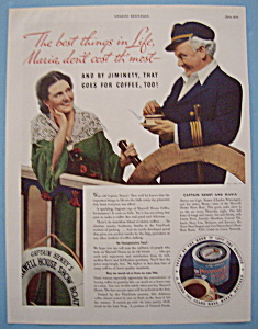 Vintage Ad: 1934 Maxwell House Coffee (Image1)