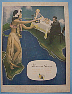Vintage Ad: 1935 Hawaii (Image1)
