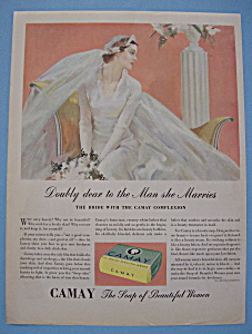 Vintage Ad: 1935 Camay Soap (Image1)