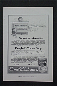 1916 Campbell Soup with Campbell Kid Writing on Wall (Image1)