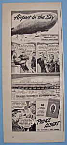 Vintage Ad: 1943 Prince Albert Pipe & Cigarette Tobacco (Image1)