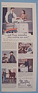 Vintage Ad: 1941 Maytag Master Washer (Image1)