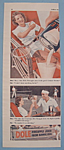 Vintage Ad: 1941 Dole Pineapple Juice