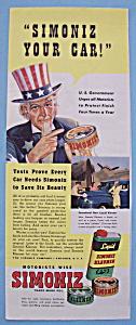 Vintage Ad: 1941 Liquid Simoniz Kleener (Image1)